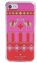 Kate Spade Camel Medallion Iphone 7 Case - Red