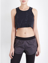 Puma Stampd jersey cropped top