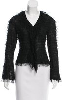 J. Mendel Tiered Lace Top