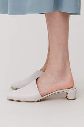 Cos ASYMMETRIC HEELED MULES