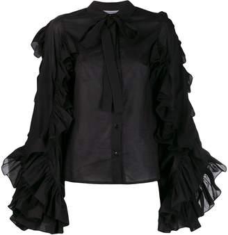 Milla ruffle trim shirt