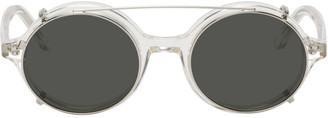 Han Kjobenhavn Transparent Drum Sunglasses