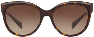Michael Kors Portfolio 57MM Round Sunglasses