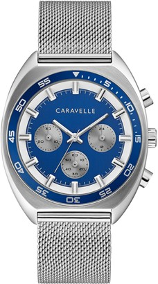 Caravelle by Bulova Men's Chronograph Watch w/ Extra Strap