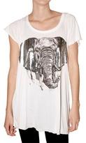 Lauren Moshi Elephant Jersey T-Shirt
