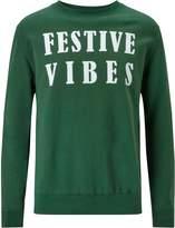 Mens London Co Festival Vibes Christmas Sweatshirt