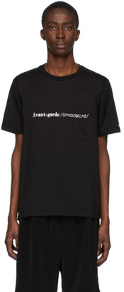 TAKAHIROMIYASHITA TheSoloist. Black Avant Garde T-Shirt