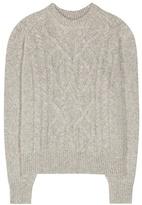 Isabel Marant Gabao alpaca and merino wool-blend sweater