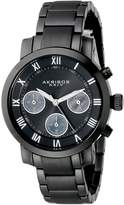 Akribos XXIV Women's AK623BK Grandiose Chronograph Stainless Steel Bracelet Watch
