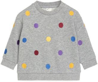 Arket Oversized Embroidered Sweatshirt