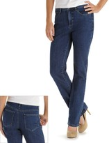 Lee Petite Monroe Classic Fit Straight-Leg Jeans