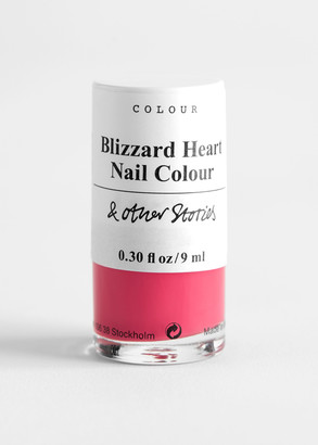 And other stories Blizzard Heart Nail Polish