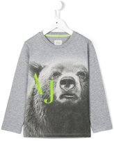Armani Junior bear print T-shirt