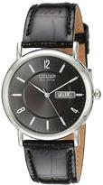 Citizen BM8240-03E Eco-Drive Leather Watch Watches