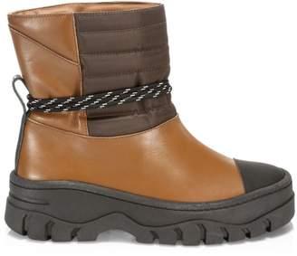 Ganni Biker Lug-Sole Boots