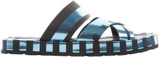 Acne Studios Black Leather Sandals