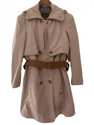 Burberry Pink Cotton Trench coats