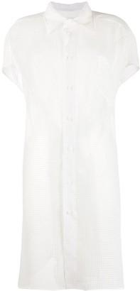 Maison Margiela Oversized Mesh Shirt