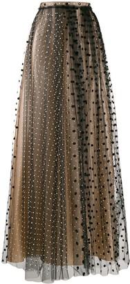 No.21 Polka Dot Maxi Skirt