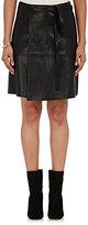 Isabel Marant Women's Coy Wrap Miniskirt-BLACK