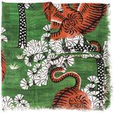 Gucci Bengal print scarf - men - Silk/Modal - One Size
