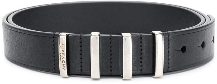 Givenchy metallic ring belt