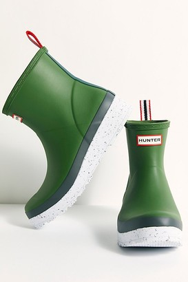 Hunter Play Short Speckle Wellies