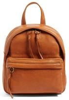 Madewell Mini Lorimer Leather Backpack - Brown