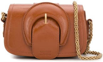 Elisabetta Franchi Maxi Buckle Mini Bag