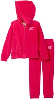 Juicy Couture Velour Hoodie & Pant Set (Toddler Girls)