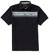 Under Armour Golf Hazard Stripe Playoff Polo Shirt