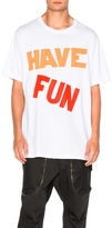 Faith Connexion Have Fun Over Tee