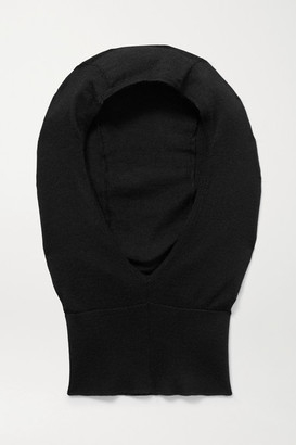 The Row Badu Cashmere And Silk-blend Snood - Black
