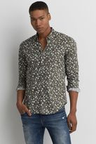 American Eagle Outfitters AE Flex Button Down Shirt