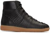 Damir Doma Black Follet High-Top Sneakers