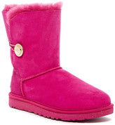 UGG Bailey Button Ornate Genuine Shearling Lining Boot
