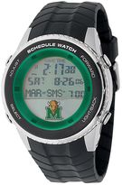 Game Time Marshall Thundering Herd Stainless Steel Digital Schedule Watch - Men
