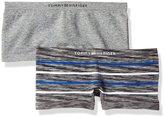 Tommy Hilfiger Women's 2 Pack Seamless Modern Boy Short