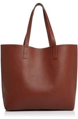Aqua Pebbled Leather Tote - 100% Exclusive