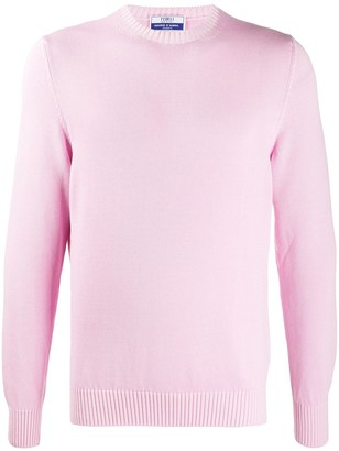 Fedeli Cotton Long-Sleeve Jumper