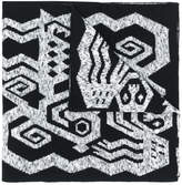 Bernhard Willhelm printed scarf