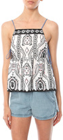 Saylor Gia Embroidered Tank