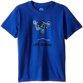 Life is Good Elemental Air Time CrusherTM Tee (Little Kids/Big Kids)
