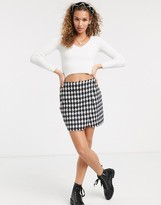 Thumbnail for your product : Parisian mini skirt in brushed check