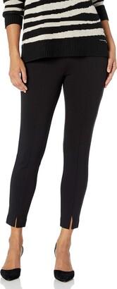 NYDJ Women's Petite Basic Ponte Legging with Front Slit