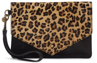 Lucky Brand Rela Leather Wristlet
