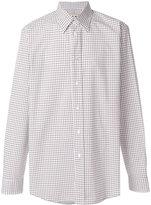 Marni grid pattern shirt