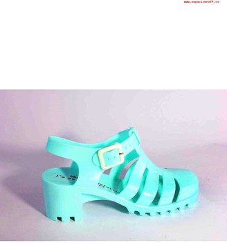 Sixty Seven Rubber Turquesa Shoes - 38