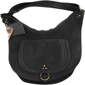 Jerome Dreyfuss Navy Suede Handbags