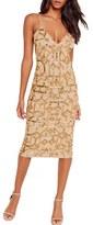 Missguided Women's Beaded Body-Con Dress